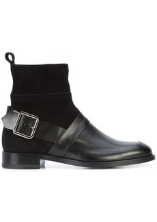 Pierre Hardy side buckle boots - Black