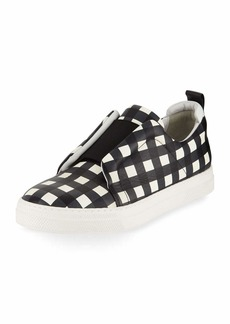 Pierre Hardy Slider Check Platform Sneakers