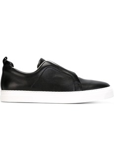 Pierre Hardy 'Slider' slip-on sneakers - Black