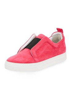 Pierre Hardy Slider Suede Slip-On Low-Top Sneaker
