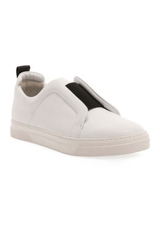 Pierre Hardy Slider Suede Slip-On Low-Top Sneakers