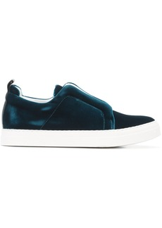 Pierre Hardy slip-on sneakers - Blue