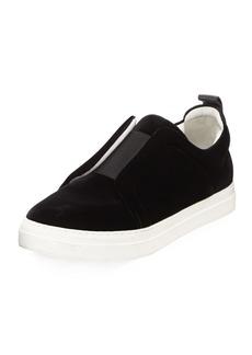 Pierre Hardy Velvet Slider Sneakers