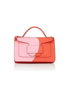 Pierre Hardy Women's Alpha Leather Shoulder Bag - Pink