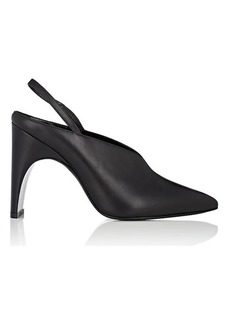 Pierre Hardy Women's Jessie Leather Slingback Pumps