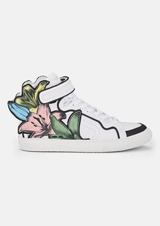 Pierre Hardy Women's Lilyrama Leather Sneakers