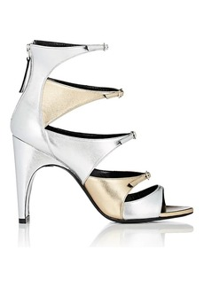 Pierre Hardy Women's Lula Metallic Leather Sandals