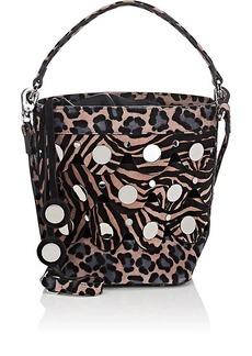 Pierre Hardy Women's Penny Suede Bucket Bag - Black