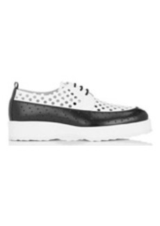 Pierre Hardy Women's Two-Tone Perforated Leather Oxfords