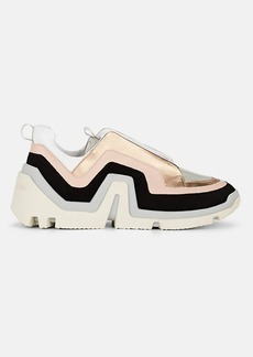 Pierre Hardy Women's Vibe Leather & Suede Sneakers