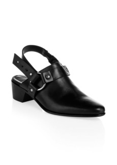 Pierre Hardy Reno Leather Slingback Mules