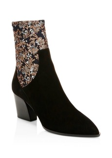 Pierre Hardy Rodeo Suede Ankle Boot