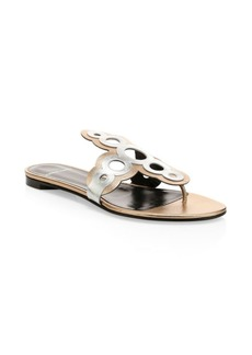 Pierre Hardy Saloni Leather Thong Sandal
