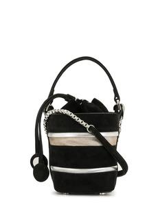 Pierre Hardy stripe mini bucket bag