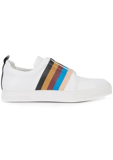 Pierre Hardy striped slip-on sneakers