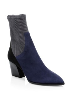 Pierre Hardy Suede Rodeo Ankle Boots