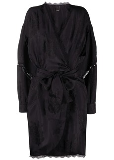 Pinko belted wrap dress