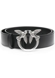 Pinko bird buckle leather belt