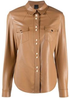 Pinko chest patch pockets shirt