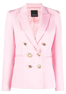 Pinko contrast-button blazer