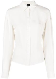 Pinko dart-detail long-sleeved shirt