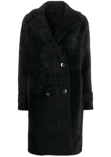 Pinko double-breasted midi coat
