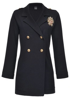 Pinko double-breasted military coat