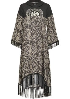 Pinko floral print hood dress
