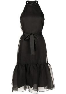 Pinko halter-neck midi dress