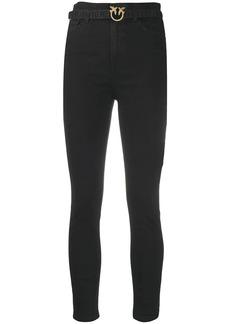 Pinko high rise skinny jeans