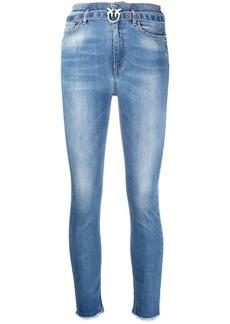 Pinko high-waisted skinny jeans