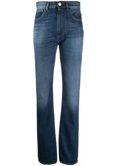 Pinko high-waisted straight leg jeans