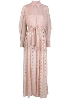 Pinko x Ramadan jacquard-woven shirt dress