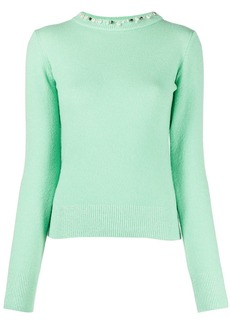 Pinko Jomelli pearl-embellished jumper