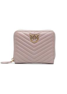 Pinko Love Birds quilted purse