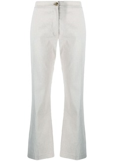 Pinko mid-rise flared trousers