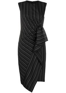 Pinko pinestriped print dress