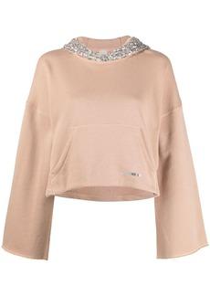 Pinko sequin detail hoodie