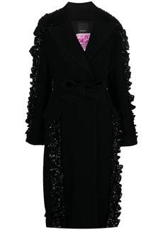 Pinko Reimagine sequin-embellished coat