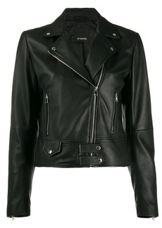 Pinko short biker jacket