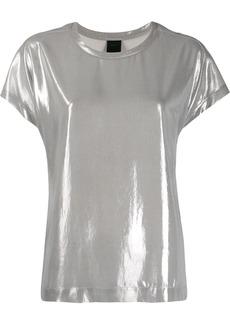 Pinko short sleeve metallic T-shirt