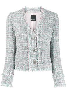 Pinko short tweed blazer