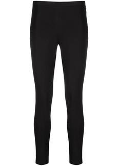 Pinko side zip fastening leggings