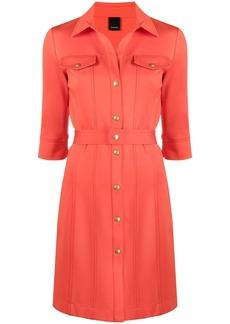 Pinko snap front shirt dress