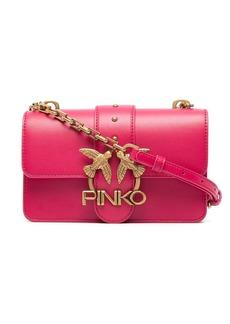 Pinko square logo satchel bag