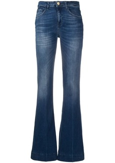 Pinko Stella high-rise flared jeans