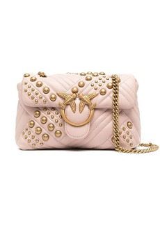 Pinko stud embellished shoulder bag
