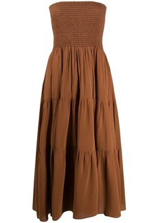 Pinko tiered midi dress