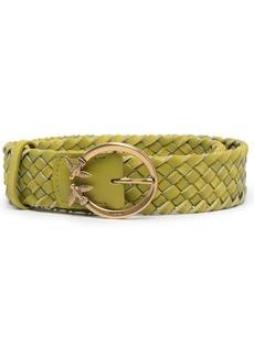 Pinko woven-effect belt