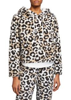 PJ Salvage Cozy Cheetah-Print Hoodie